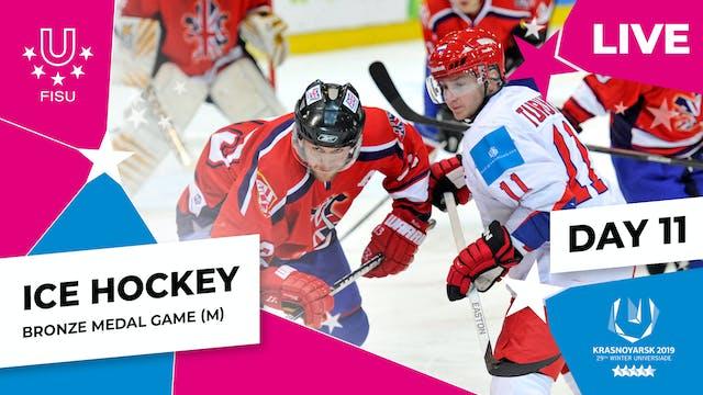 Ice Hockey   Men's Bronze Medal   Win...