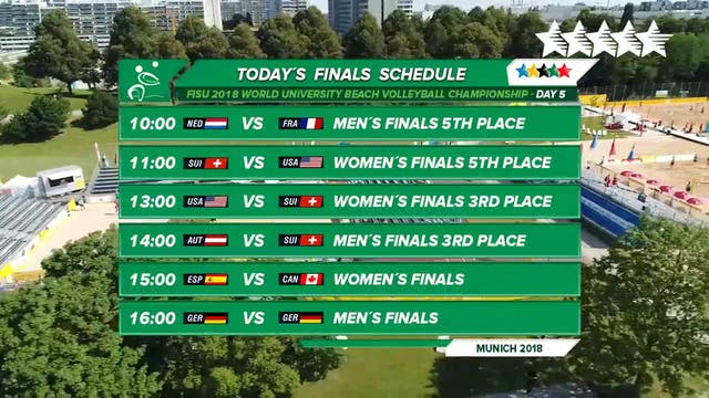 Beach Volleyball - Finals - Day 5 - A...