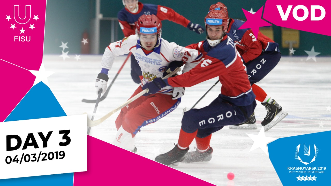 Day 3   Krasnoyarsk 2019 Winter Universiade   #RealWinter