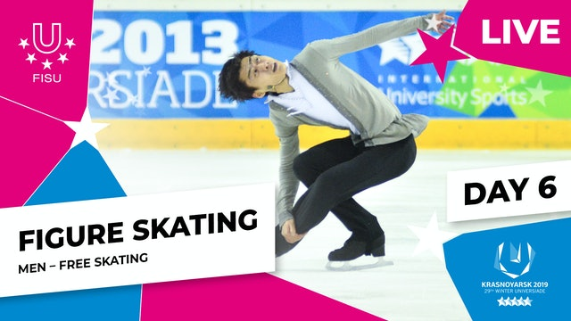 Figure Skating | Men Free Skating |Winter Universiade 2019