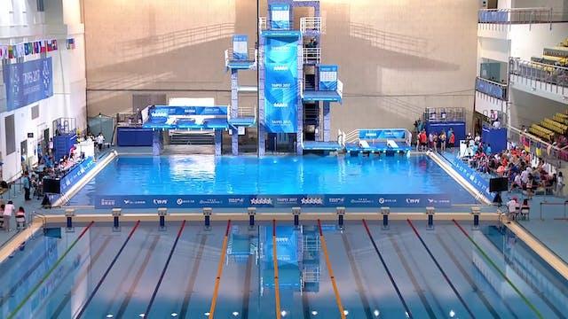 Diving: 1m Springboard W Final