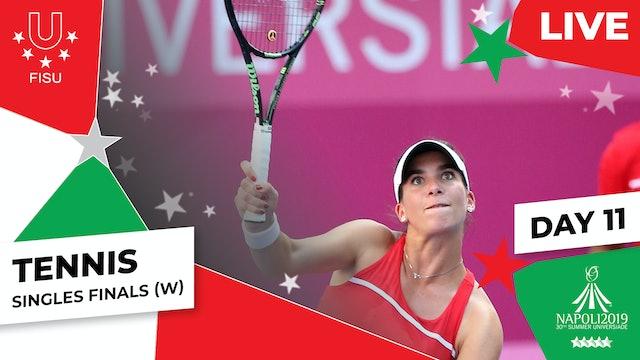 Tennis  Singles Finals (W)  Summer Universiade 2019