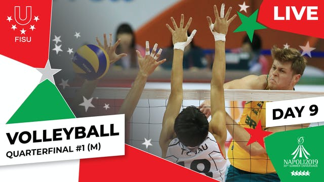 Volleyball | Quarterfinal #1 (M) | Su...