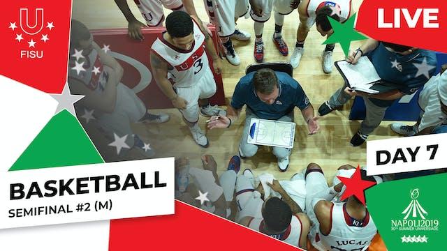 Basketball | Semifinal #2 (M) |Summe...