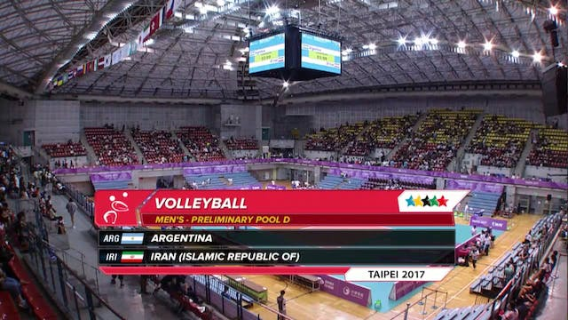 Volleyball: ARG vs IRI (M28)
