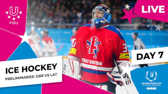 Ice Hockey | Men's Preliminaries – GB...