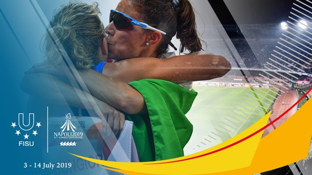 The Napoli 2019 Summer Universiade is coming up!