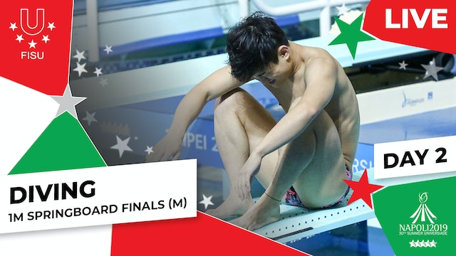 Diving | 1m Springboard Finals (M) | Summer Universiade 2019