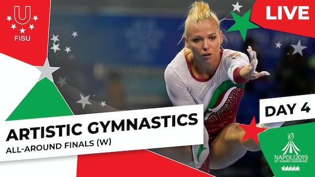 Artistic Gymnastics | All-Around Finals (W) |Summer Universiade 2019
