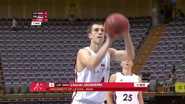 Basketball: LAT vs SRB (M25)