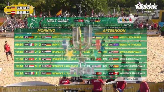 GER vs AUS - with the Men's Final pla...