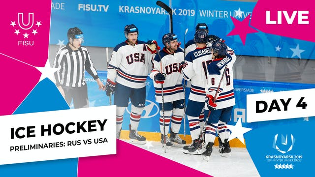 Ice Hockey | Men's Preliminaries – RU...