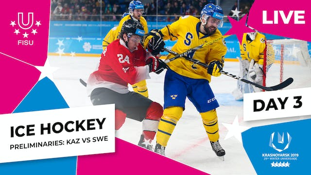Ice Hockey | Men's Preliminaries – KA...
