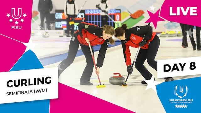 Curling | Men's SF – CAN vs SUI | Winter Universiade 2019