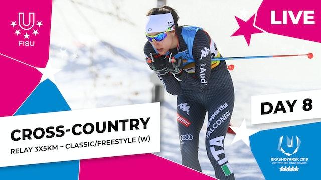 Cross-Country Skiing | Women's Relay 3x5km | Winter Universiade 2019