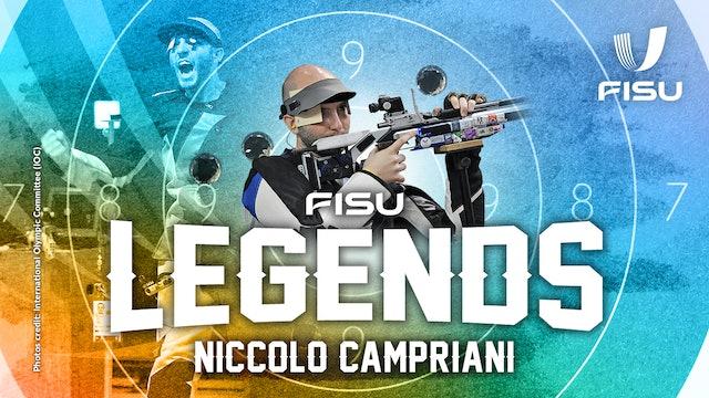 FISU Legends Interview | Italian Sport Shooter Niccolo Campriani
