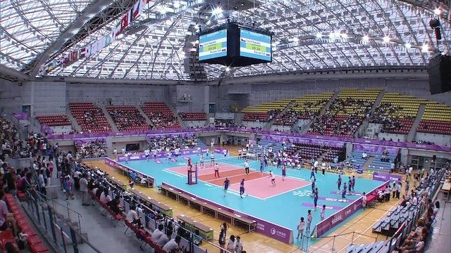 Volleyball: CZE vs RUS (M37)