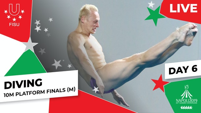 Diving | 10m Platform Finals (M) |Summer Universiade 2019