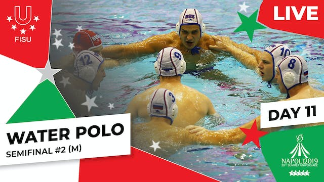 Water Polo | Semifinal #2 (M) | Summe...