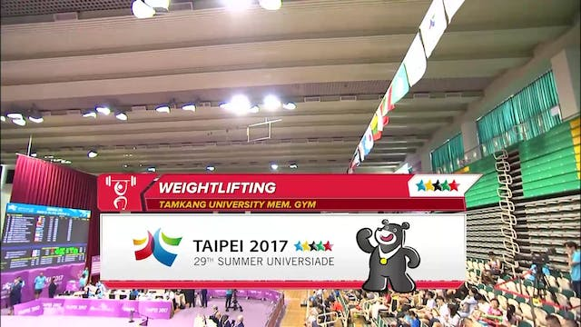 Weightlifting: Men's 94kg Final