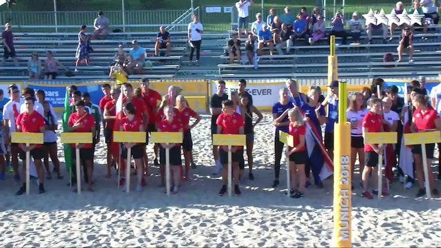 Munich 2018 FISU World University Beach Volleyball Championship - Opening Ceremony