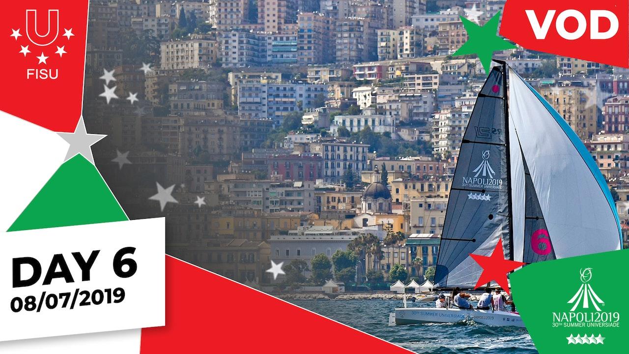 Day 6 | Napoli 2019 Summer Universiade | #ToBeUnique