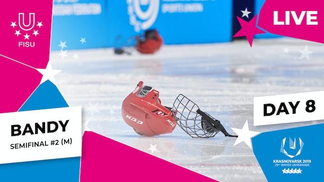 Bandy |Men's Semifinal #2 | Winter Universiade 2019