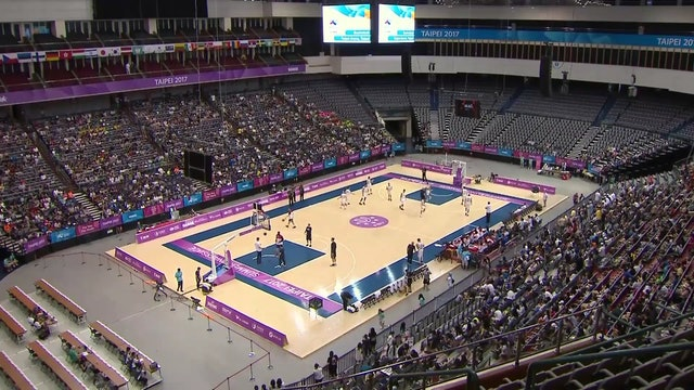 Basketball: Men's SF1 SRB vs USA