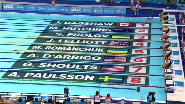 Swimming: start 1100GMT