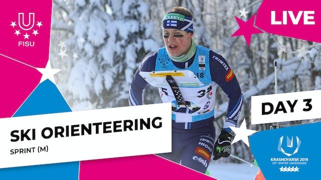 Ski Orienteering   Men's Sprint   Winter Universiade 2019