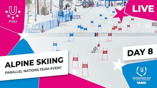 Alpine Skiing | Parallel Nations Team | Winter Universiade 2019
