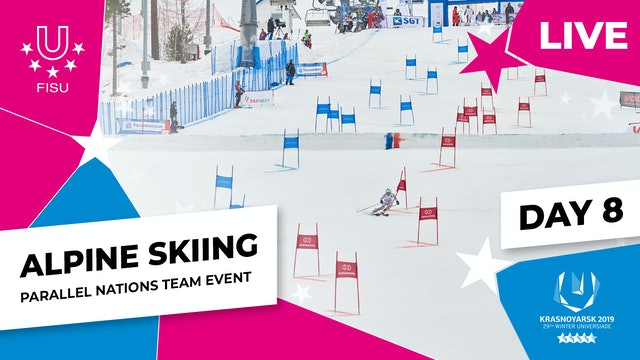 Alpine Skiing | Parallel Nations Team |Winter Universiade 2019