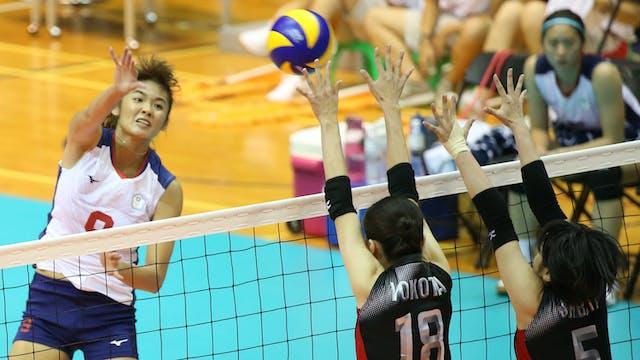 TPE vs. JPN (Women's Volleyball Semif...
