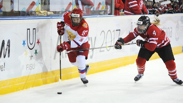 CAN vs. RUS (Women's Ice Hockey Final) | Almaty 2017 | #UniSportsClassics