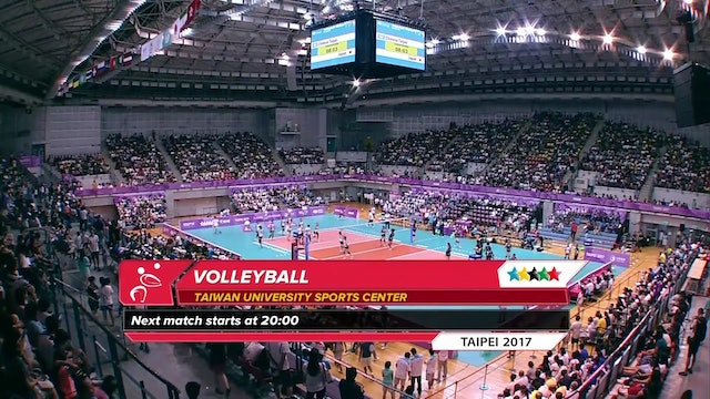 Volleyball: Women's SF2 TPE vs JPN