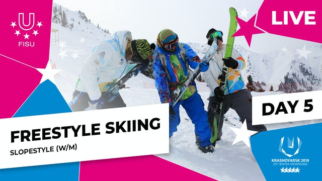 Freestyle Skiing | Slopestyle | Winte...