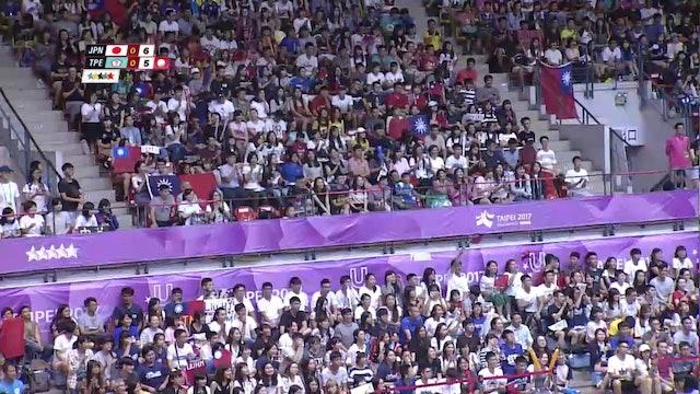 Volleyball: JPN vs TPE (M)