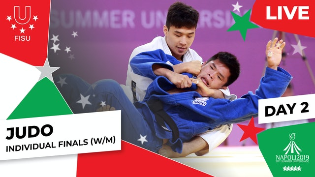 Judo | Day 2 Individual Finals (W/M) | Summer Universiade 2019