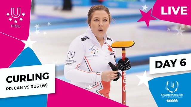 Curling | Women's Round Robin – CAN vs RUS