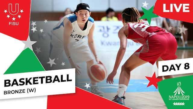 Basketball |Bronze (W) |Summer Universiade 2019
