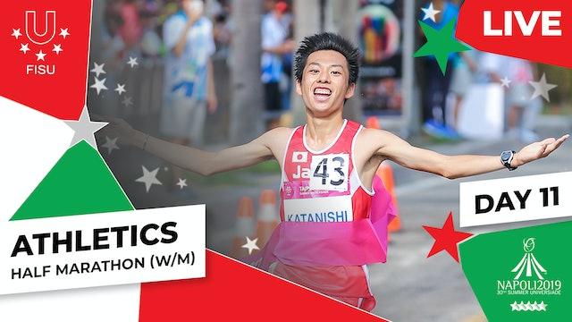 Athletics   Half Marathon (W/M)  Summer Universiade 2019