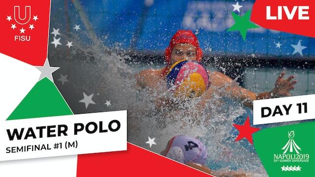Water Polo   Semifinal #1 (M)  Summer Universiade 2019