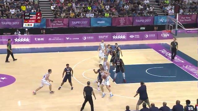 Basketball: EST vs USA (M59)
