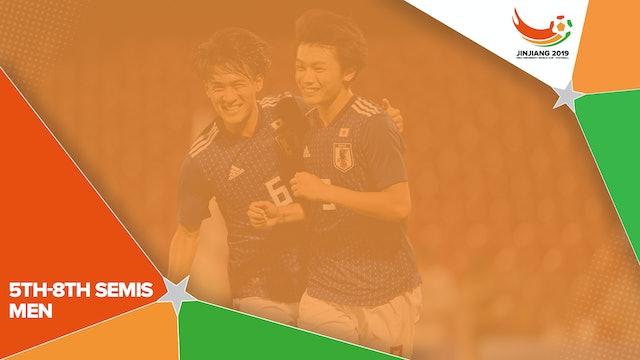 Men's 5th-8th – Semifinal 1 | #UniFootball