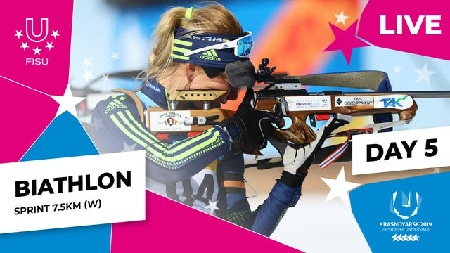 Biathlon | Women's Sprint 7.5km |Win...