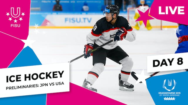 Ice Hockey | Men's Preliminaries – JP...