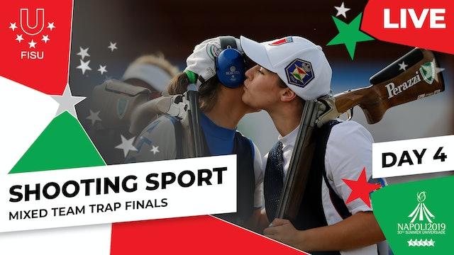 Shooting Sport|Mixed Team Trap Finals |Summer Universiade 2019