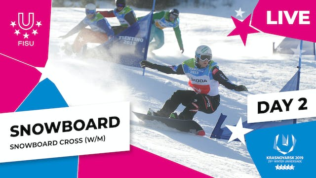 Snowboard | Cross | Winter Universiad...