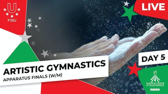 Artistic Gymnastics   Apparatus Final...