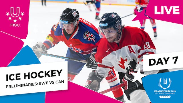 Ice Hockey | Men's Preliminaries – SW...